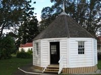 Whangarei Museum - the smallest chapel in NZ