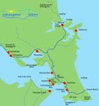 Click to enlarge the Whangarei Heads map